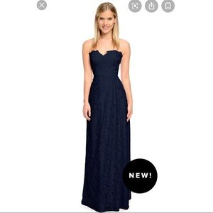 Weddington Way Lace Astrid Gown in Navy